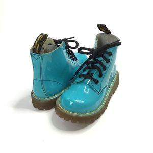 Doc Martens 6004 Aqua 5 Eye lace up boots